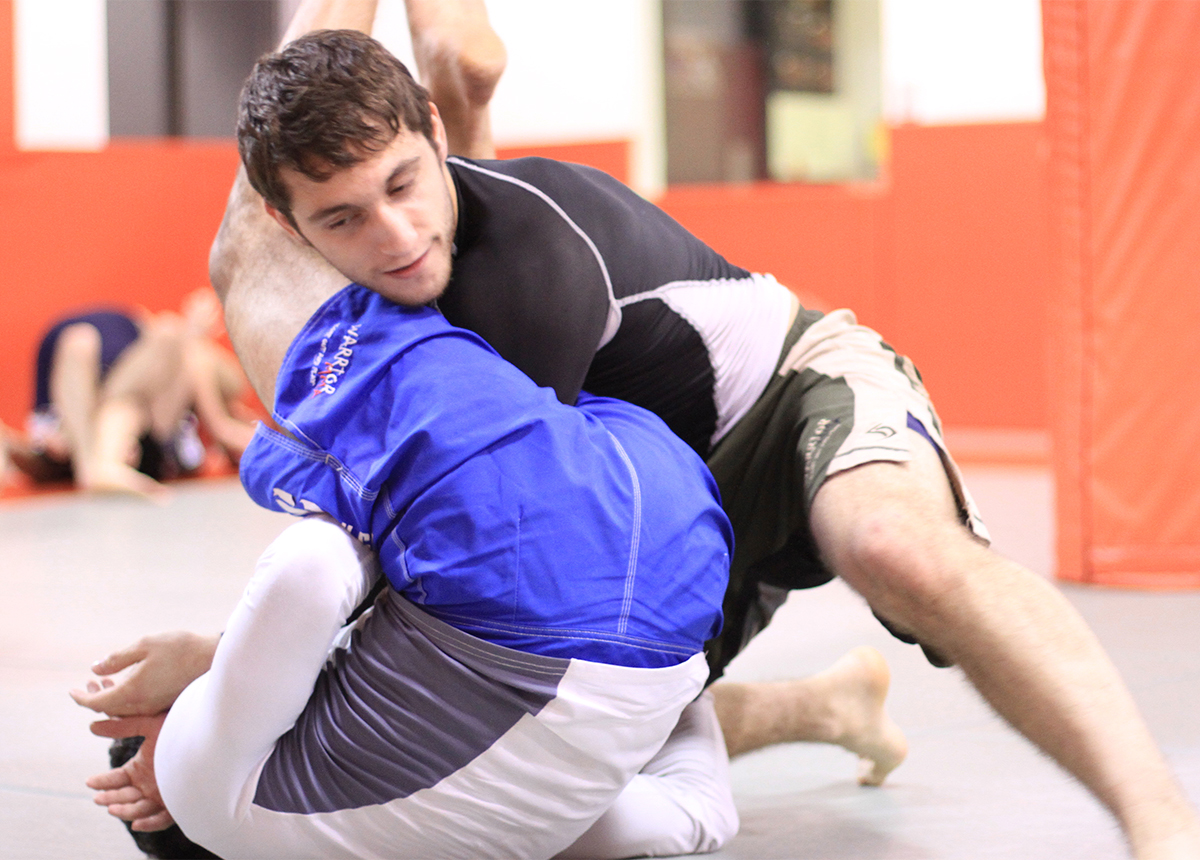 <h5><b> MIXED MARTIAL ARTS </b></h5><br><span class=hidden-xs> MMA, is one of the fastest growing, most exciting, sports in the world. It is the Triathlon of Martial Arts training covering Striking</span>